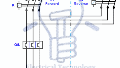 rev for three phase motor connection power and control diagramsForward Reverse Motor Wiring Diagram #12