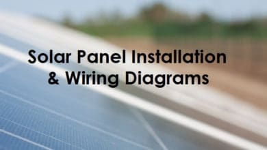 wiring diagram solar panels installation solar panel wiring   installation diagrams electrical tech  solar panel wiring   installation