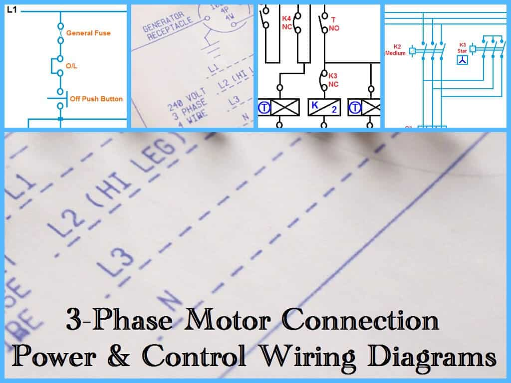 Three Phase Motor Power Control Wiring Diagrams 1024x768 room air cooler wiring diagram 2 with capacitor marking and 3 siemens 14cu+32a wiring diagram at crackthecode.co