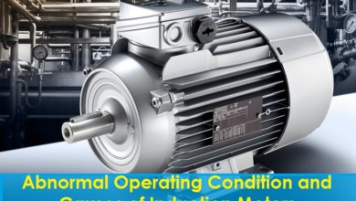 Photo of Abnormal Operating Condition and Causes of Induction Motors