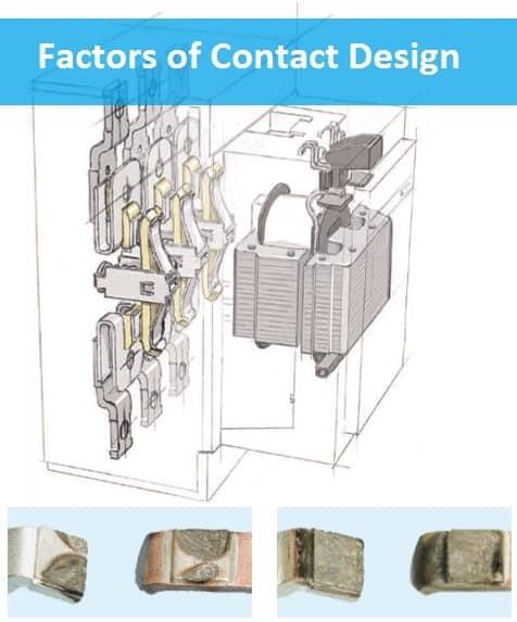 Factors of Contactor's Contact Design