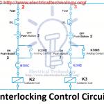 Electrical Interlocking control circuit diagram