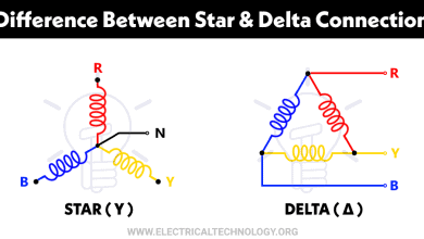 Photo of Difference between Star and Delta Connections – Comparison Of Y/Δ