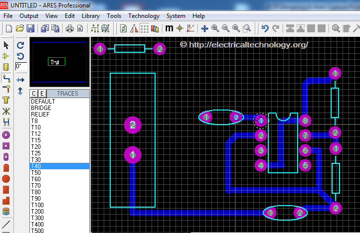 do it yourself PCB simple Design