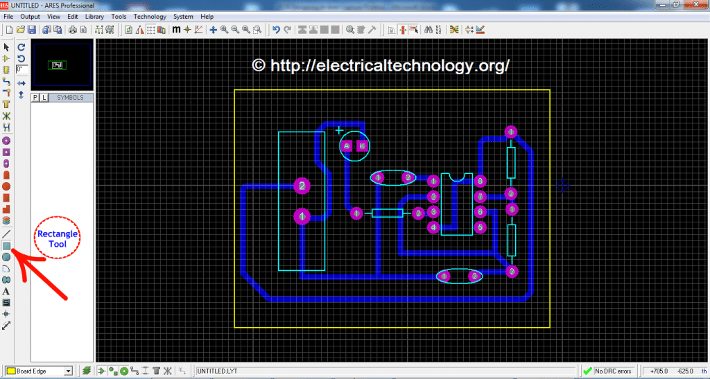 How To Design a PCB (Step by Step & Pictorial View) LED Flasher Circuit PCB Designing PCB Design of LED Flasher Circuit PCB Designing In Ares Capture Proteus A Complete PCB Design Circuit of LED Flasher Circuit
