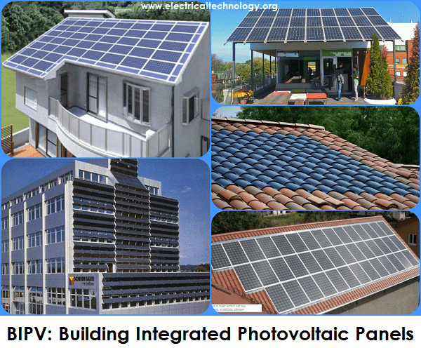 BIPV: Building Integrated Photovoltaic Panels