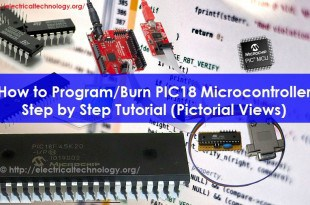 How to Program PIC18 Microcontroller in C. Step by Step Tutorial (Pictorial Views)