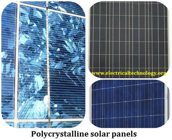 Polycrystalline solar panel PV panels