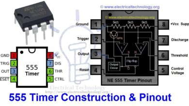 Photo of 555 Timer IC- Types, Construction, Working & Application – Circuit & Pinout