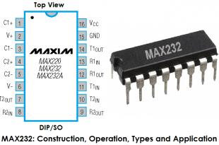 MAX232 IC, MAX-232, MAX 232