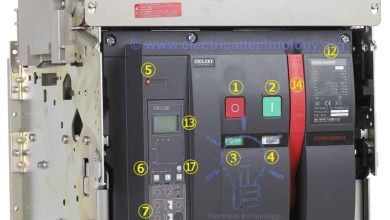 Photo of Air Circuit Breaker (ACB) – Construction, Operation, Types and Uses