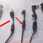 Ferrite Bead Tiny Cylinder in Power Cords & Cable. Why