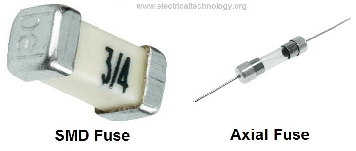 SMD Fuses and Axial fuses