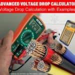 Advance Voltage Drop Calculator and Voltage Drop Formula