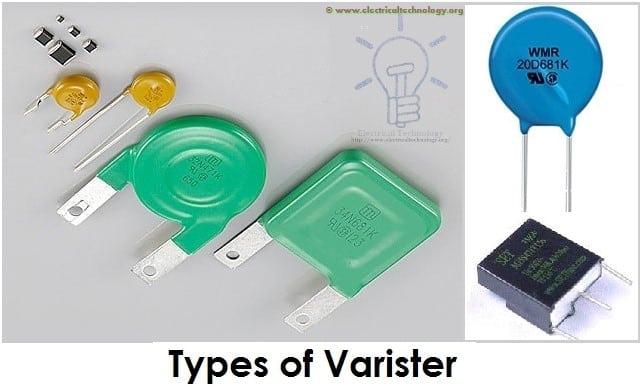 Types of Varisters Resistors