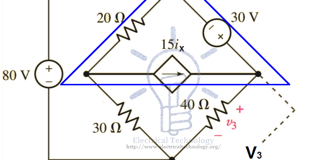 Supermesh circuit analysis step by step with solved example fandeluxe Images