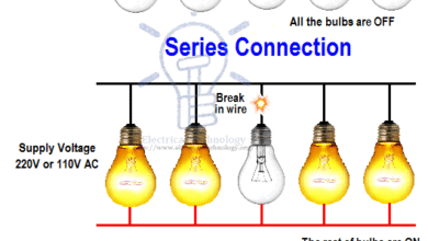 Advantage of parallel circuit connection over series circuit connection