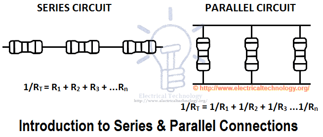 series parallel connection Series and parallel connections next page: voltage and current the terms series circuit and parallel circuit are sometimes used, but only the simplest of circuits are entirely one type or the other.