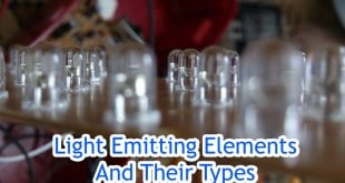Light Emitting Elements And Their Types