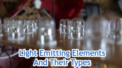 Photo of Light Emitting Elements And Their Types