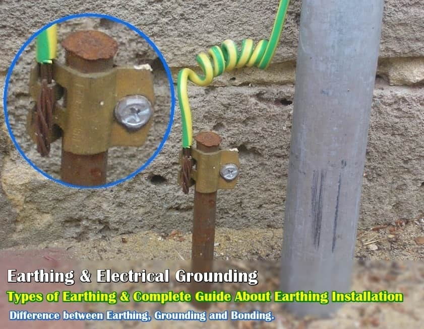 How To Make Electrical Earthing For Home
