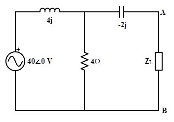 Example of Maximum Power Transfer theorem in AC Circuit explanation