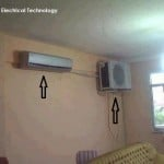 Funny AC Installtion awesome AC in the same room