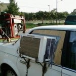 Funny Engineering Car AC Installation