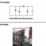 Funny electrical, Happen in every class