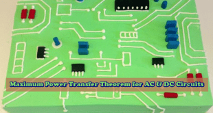 Maximum Power Transfer Theorem for AC & DC Circuits