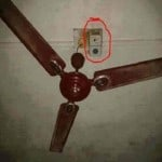 Only happen in India Funny Electrical Technician Fan Funny Installation
