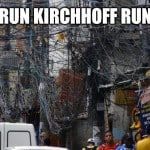 Run Kirchhoff Run Funny Electrical