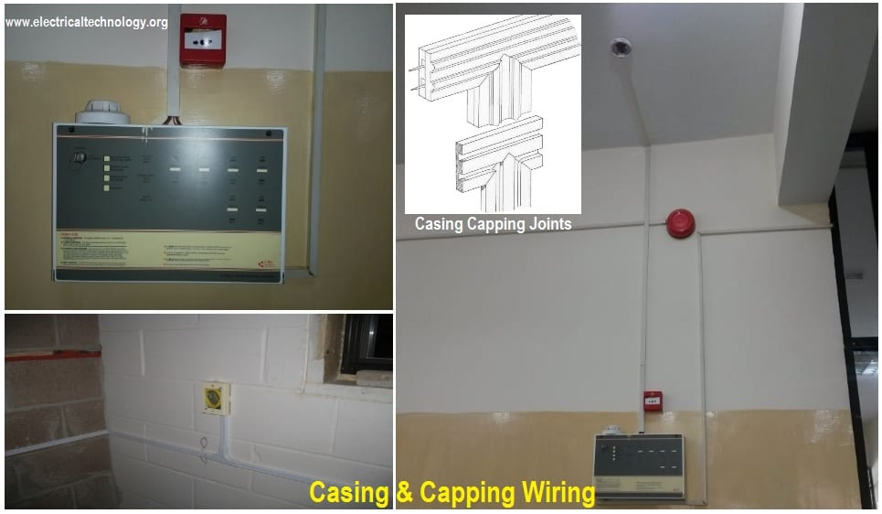 Casing and Capping wiring