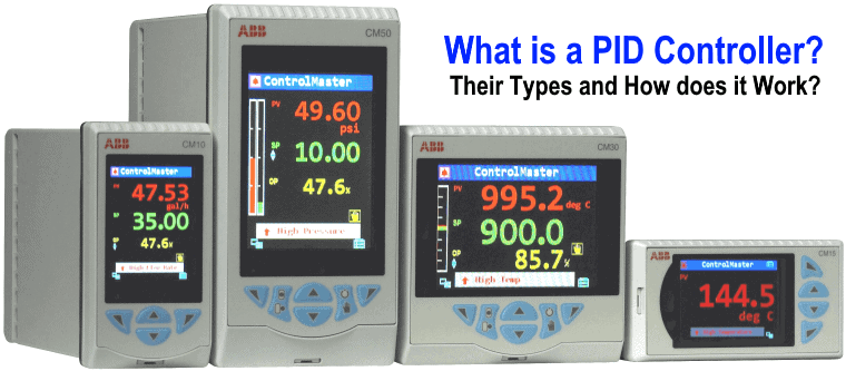 What is a PID Controller, Their Types and How does it Work?