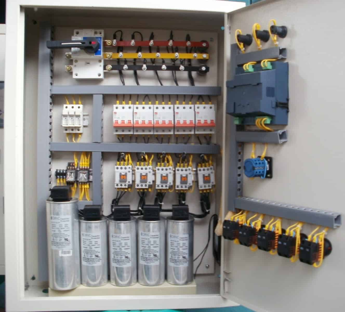 Capacitor Bank in Industries Wiring and Power Distribution