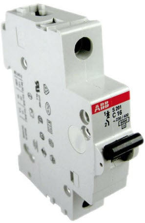 Mcb Miniature Circuit Breaker Construction Working Types Uses