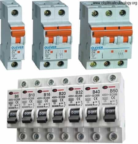 Mcb Miniature Circuit Breaker Construction Working