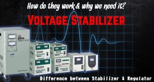 What is Voltage Stabilizer. Difference between Stabilizer & Regulator