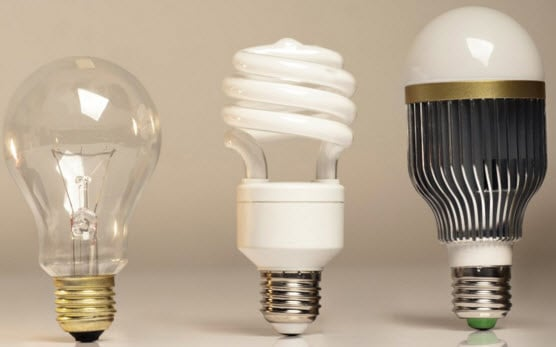 Relamping with energy efficient lamps