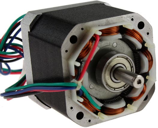 Stepper motor winding