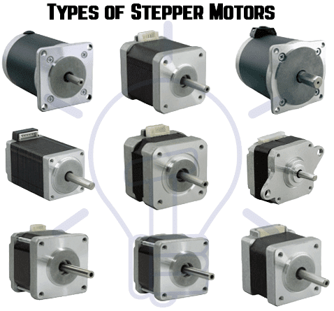 types-of-stepper-motors
