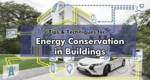 Tips & Techniques for Energy Conservation in home & Building