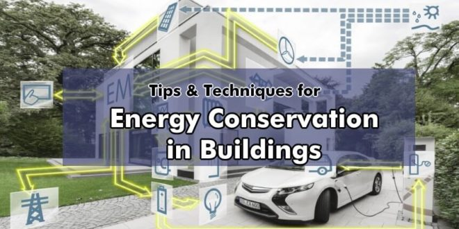 An Overview of Energy Conservation in Buildings