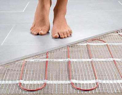 floor heating for energy conservation in home