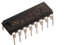 Motor Driver L293D for Water Level Controller