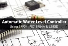 Photo of Fully Automatic Water Level Controller using SRF04