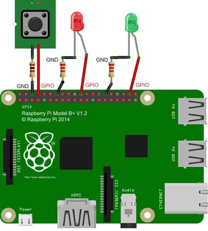LED Lights with Raspberry Pi
