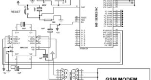 GMS-Modem-Circuit-How GSM communication works