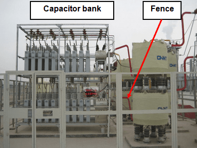 HV Capacitor banks