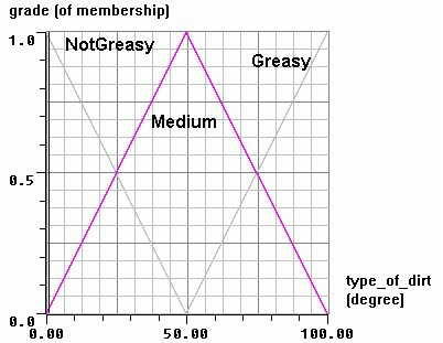 Membership Functions for Type of Dirt
